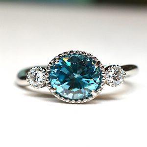 ダイヤモンド付きの指輪 リフォーム事例01
